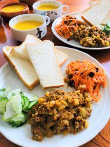 空豆食堂ランチ